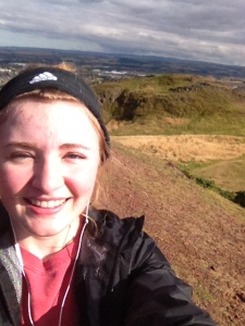 Made it to the top of Arthur's Seat! 823 Feet!