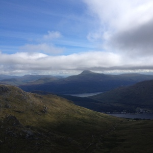 View from the summit of Ben Arthur (2,,900 feet)